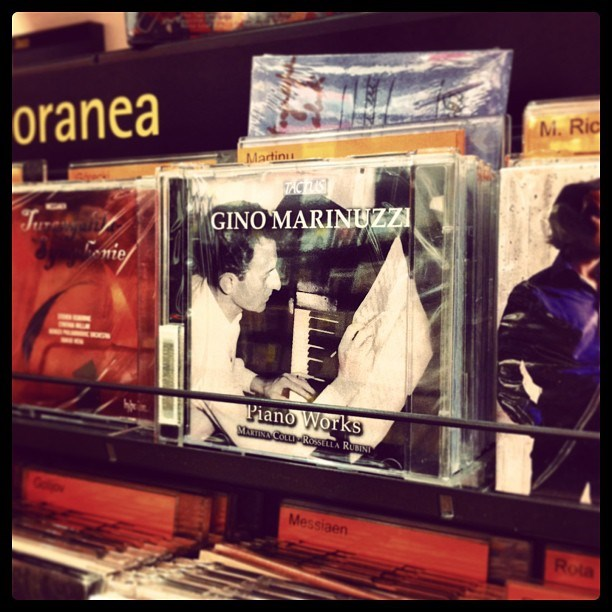 Our CD at La Feltrinelli